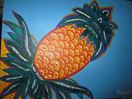 Eleuthera Pineapple - Bahamian Folk Art