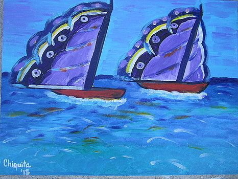 Butterfly Sails - Bahamian Folk Art