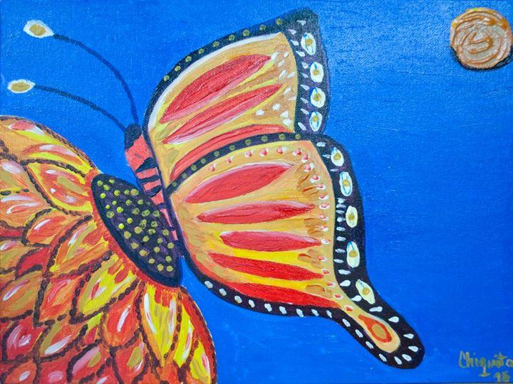 The Monarch - Bahamian Folk Art
