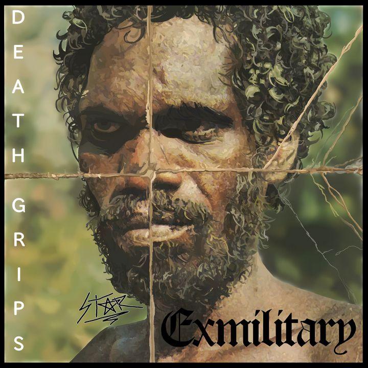 Death Grips (Exmilitary) Digital Art - Star Draws