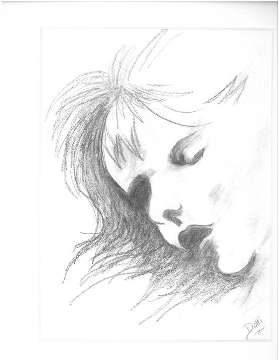 Sleeping child - Dotti's Art...as is