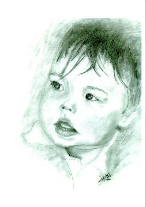 Baby - Dotti's Art...as is