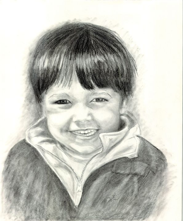 Joshua - Dotti's Art...as is