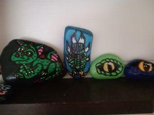Painted Dragon rocks