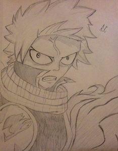Angry Natsu