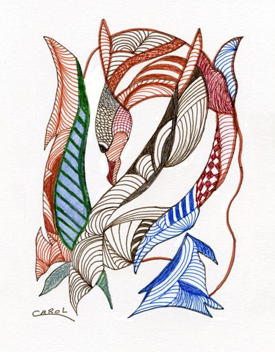 Dive ... Dive - Carol Brown Designs