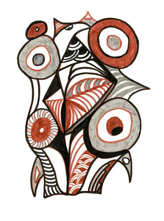 Circling Birds - Carol Brown Designs