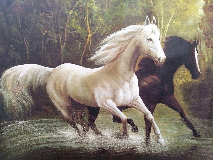 Racing horses - G3Pics
