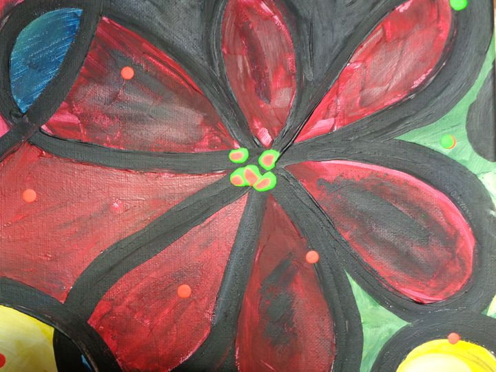 Red creation. - Paintings by Armando