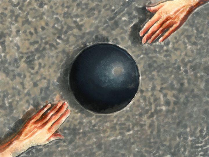 Black Sphere - Black Morion
