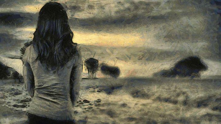 Lonely girl - Black Morion