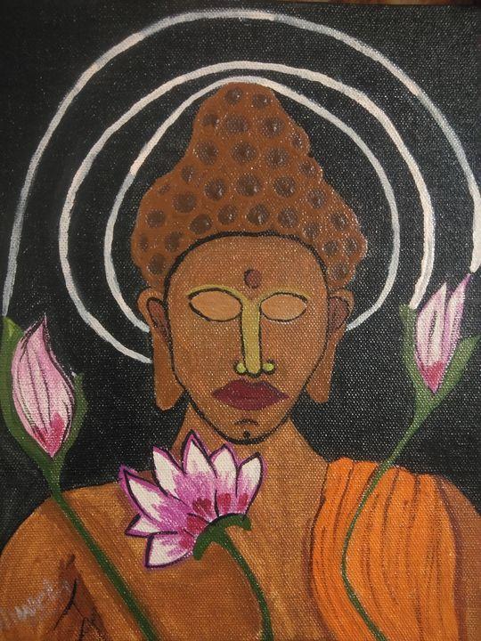 Buddha - Shweta Arts