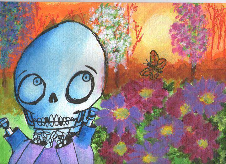 Hammy in the Garden - Hammy's Gallery