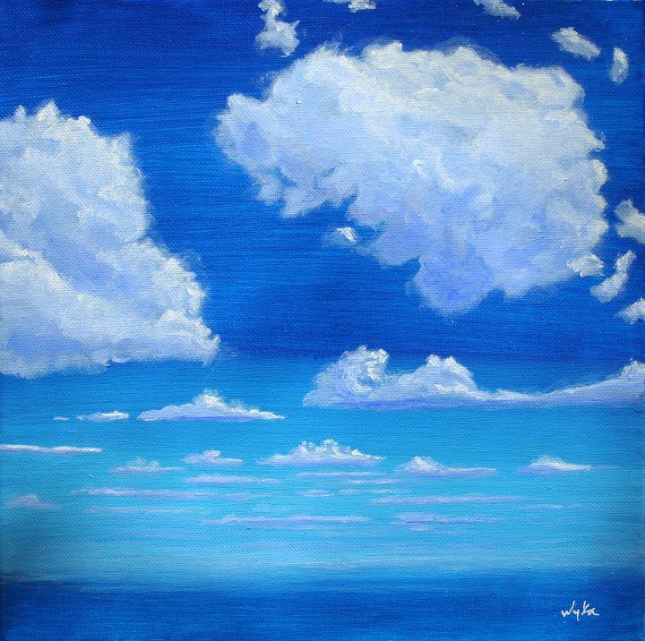 Fluffy clouds study - Curt Wyka