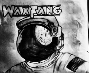 Wax Fang the astronaut