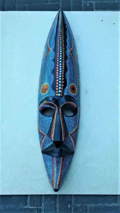 Green Mask - Abu Kanu