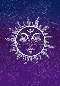 Nighttime Sun