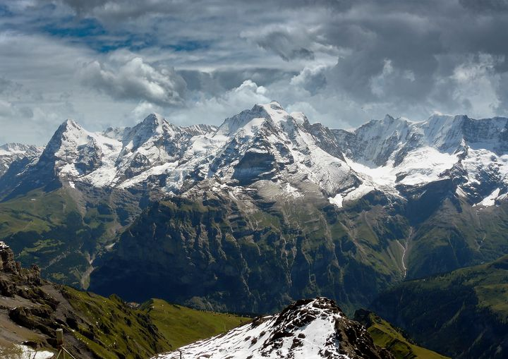 The Swiss Alps - Dave Williams