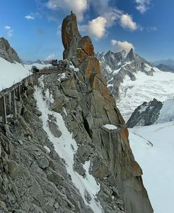 The Aguille du Midi, French Alps