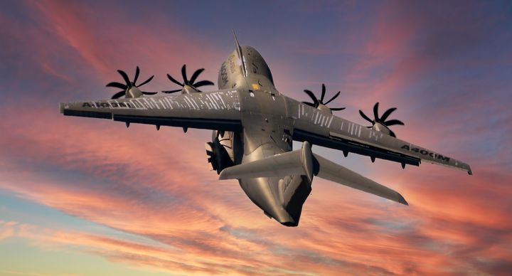 Reach for the Skies _ Airbus A400M - Dave Williams