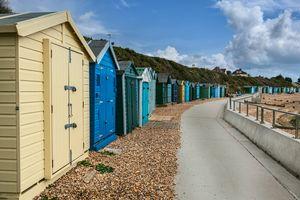 Beach Huts at Hill Head