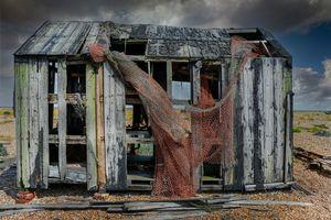 Fishermans Beach Hut Dungeness