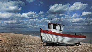 Fishing Boat Rebecca Dungeness Beach