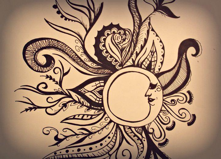 The Moon of Art - Danielle Jordan