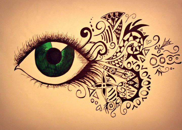 Abstract Eye - Danielle Jordan