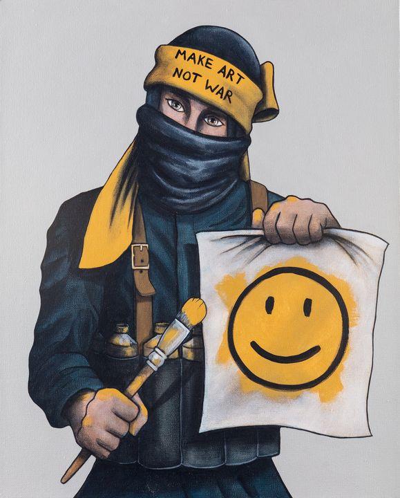 Make Art, Not War - Art of Justin Vowell