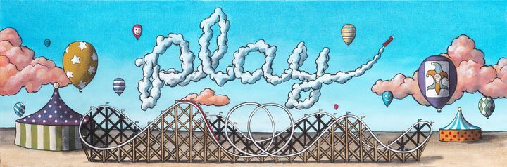 Skywriters: Play - Art of Justin Vowell