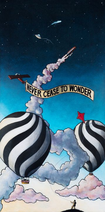 Never Cease to Wonder - Art of Justin Vowell