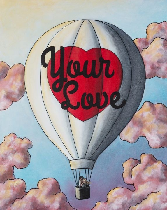 Your Love - Art of Justin Vowell