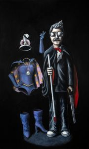 Blind Magician and Invisible Asst.
