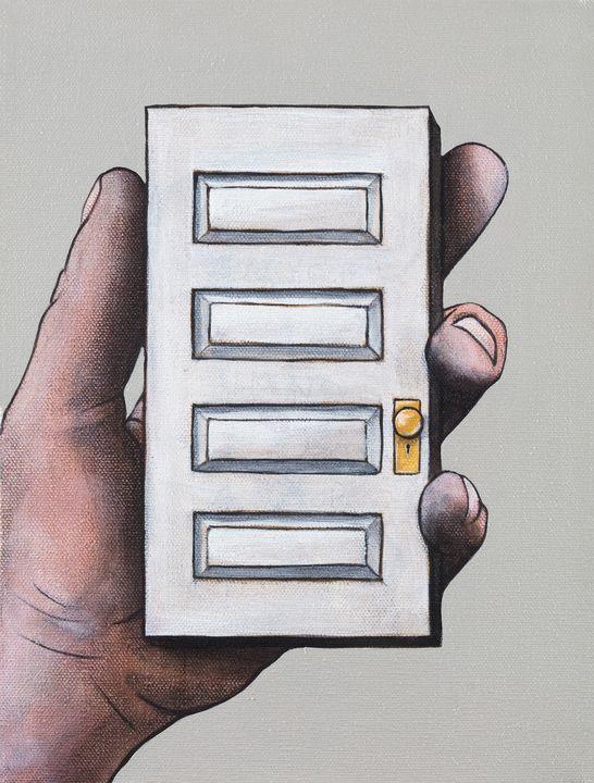 Door in Hand - Art of Justin Vowell