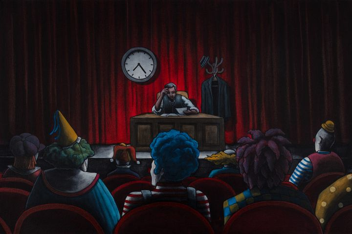 The Clown Show - Art of Justin Vowell