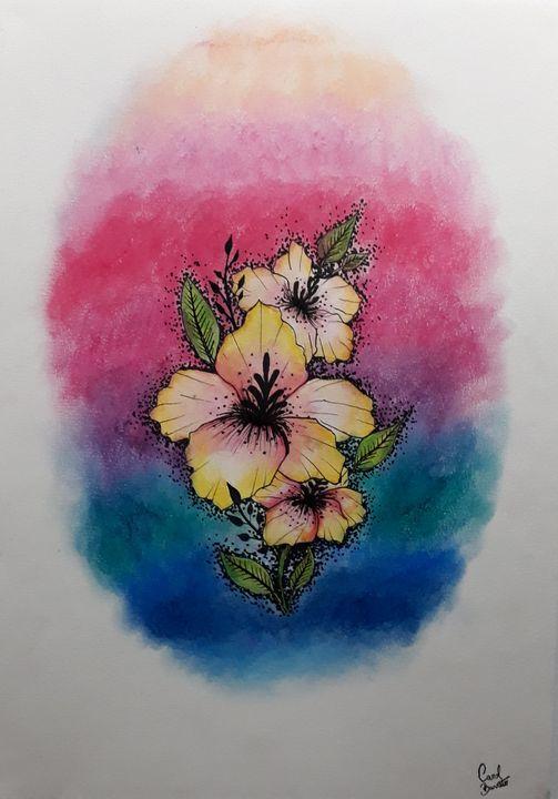 Mais flores - Carol Barreto