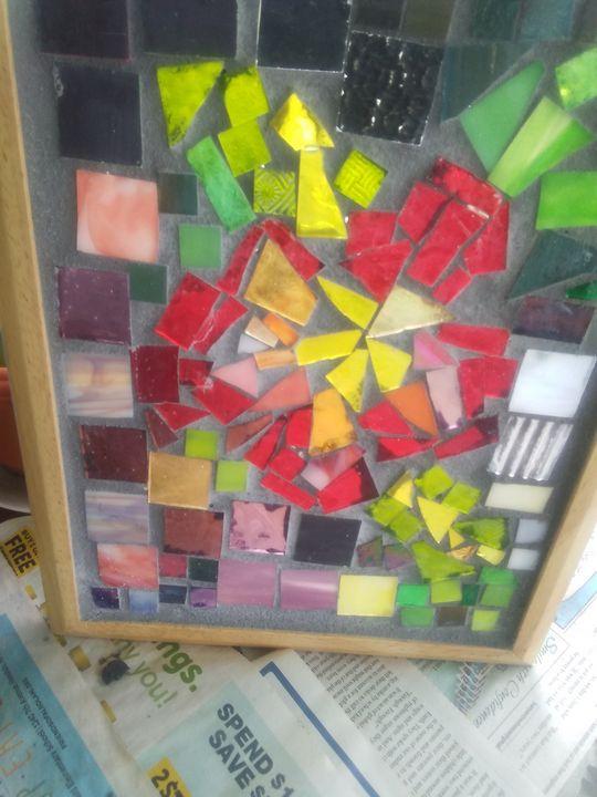 Hibiscus Mosaic - Mary Dickson