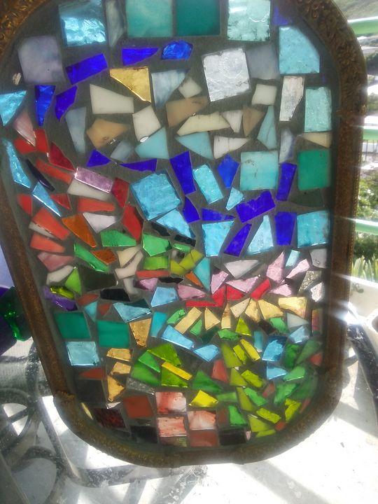 Hummingbird Mosaic - Mary Dickson