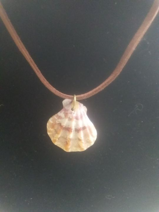 Tiger Stripe Shell Necklace - Mary Dickson