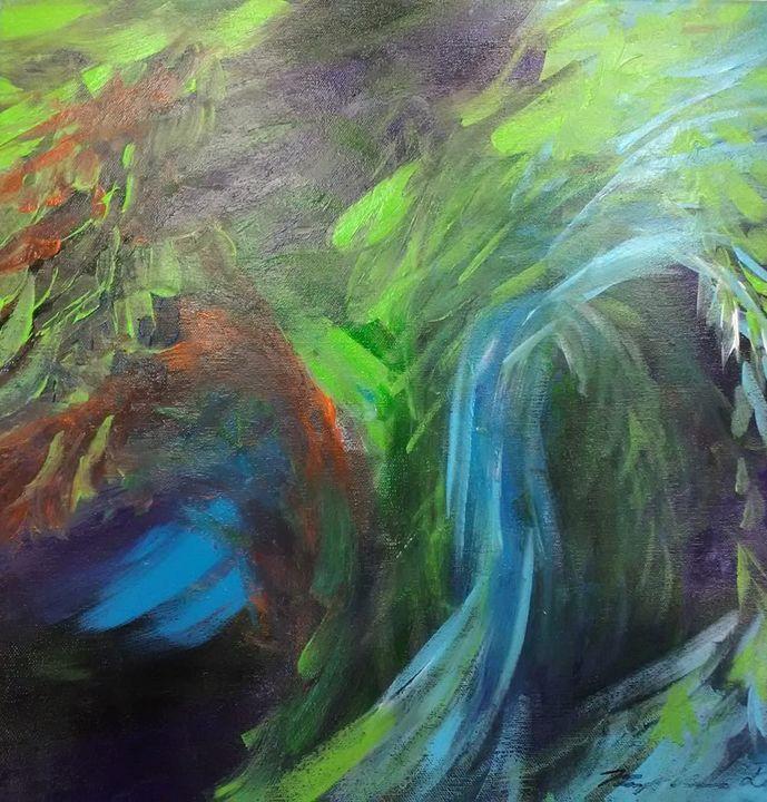 Impressionist Tree - Mary Dickson