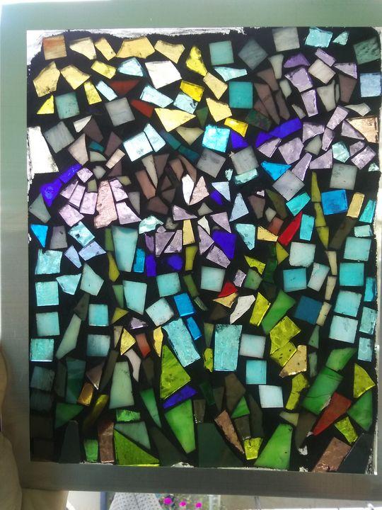 Iris Mosaic - Mary Dickson