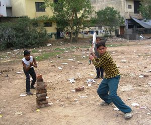 Pick Up Cricket in Delhi - EndLocalHunger