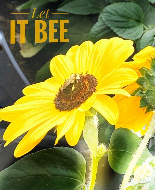 Let it bee sunflower - Navahfleur