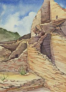 Wupotki Ruin - Suzanne Edmonds