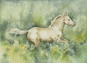 The Cream-Colored Filly