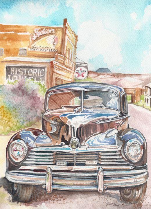 Bisbee Reflections - Suzanne Edmonds