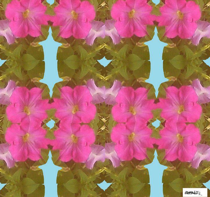 Imperfect Flower Collage - StuArtistStudio
