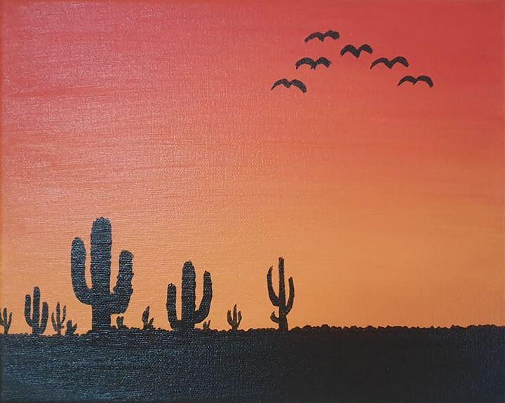 Desert Dawn - Panaghia Ovidiu