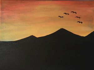 Desert Dawn II